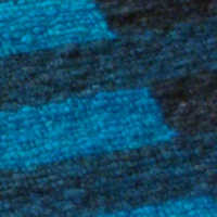 Detail of blue section of Joanne's rug